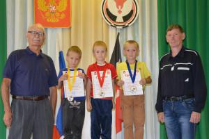 Победители в группе 2007 мальчики