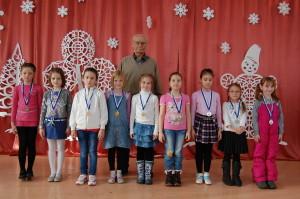 Девочки-призёры
